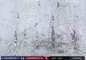 The Apple Cup went from a slushy mess to a snowy whiteout in 2 quarters