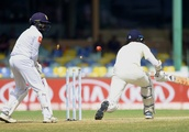 Sri Lanka make England's bowlers toil