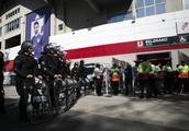 Copa Libertadores final delayed after River Plate fans attack Boca Juniors team bus