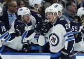 Laine nets 5 goals in Jets' blowout