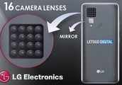 LG smartphone with sixteen cameras could be in the works