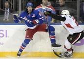 Rangers Double up on Senators