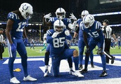 Colts receiving corps ranked 10th in NFL
