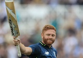 England batsman Jonny Bairstow smashes new T10 record score with destructive 84 in just 24 deliverie