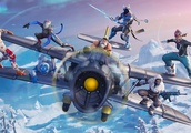 Fortnite season 7 arrives with Santa, planes, and lots of snow