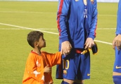 "Afghanistan's ""Little Messi"" forced to abandon home after death threats"