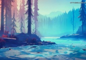 Among Trees is a new, beautiful game about living in the forest