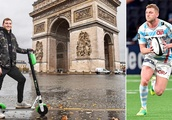 The French evolution! Life's a riot for Finn Russell in Paris... and it's not down to the angry pr