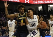 Northwestern finds another scorer, goes on 25-0 run in win against DePaul