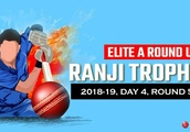 Ranji Trophy 2018-19, Group A, round 5: Gujarat survive Railways scare