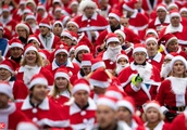 10. Santa Claus run in Michendorf