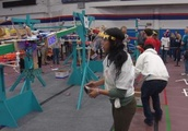 Students Display Innovation, Creativity in Regional Robotics Competition