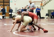 Looking ahead: With college wrestling on the horizon, Portage's DJ Washington works to improve