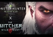 The Witcher's Geralt Will Be Hunting in Monster Hunter: World in Early 2019