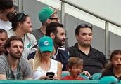 Tiger Woods Ex-Wife, Elin Nordegren and Children at NFL Game