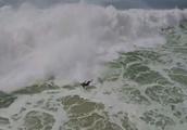 Worst surfing wipeout of year tops nastiest Nazare failures
