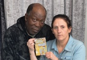 Couple who 'faked £200k scratchcard win' filmed buying 'lucky' ticket at shop