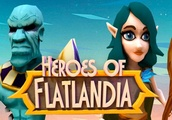 Heroes of Flatlandia is basically Warcraft for Android