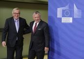 Jordan King Abdullah II visits EU Commission