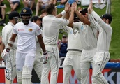 Black Caps claim honours, but only just, as Sri Lanka fight back in seesawing opening day