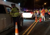 Warriors join police on drink-drive patrol, with rewards for sober drivers
