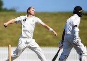 Central Stags' undefeated streak threatened as Wellington Firebirds batsmen shine