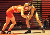 Taken: Crown Point's Riley Bettich edges Wheeler's Giovanni Diaz in 120-pound final at Carnahan invi
