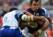 No joy for Kiwi flanker John Hardie against his Scottish test teammates