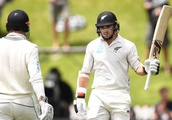 Tom Latham joins big names as test double century makers at Basin Reserve