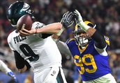Focused on the now, Nick Foles does his job to deliver Eagles a win over Rams