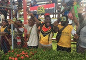 Behind-the-scenes of England Knights' tour of Papua New Guinea