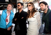Justin Theroux and Elizabeth Hurley Spark Dating Rumors After Spotted at Three Events Together