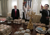 How much did the White House spend on Clemson's fast food spread?