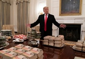 Trump's fast food spread at the White House has the internet talking