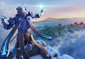 Everything we know about the floating ball of ice and the Ice Storm in 'Fortnite'