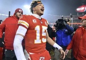 Patrick Mahomes has thrown Chiefs into NFL spotlight, with only Patriots in way of a super finish