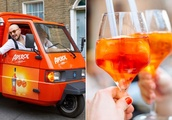 You can now get a free Aperol Spritz delivered to your front door