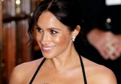 Meghan Markle Was Decked Out in Sequins for Her Circus Date with Prince Harry