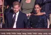 Meghan Markle and Prince Harry's Cute PDA Moment Was