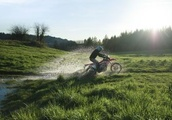 Honda's new CRF450L motorcycle straddles the road and dirt, but may struggle to find riders