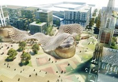 Fancy plans for Cathedral Square won't take shape for at least a decade