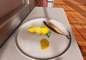 I dropped baked trout on the floor and served it to a food inspector in Cooking Simulator