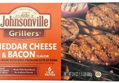 Johnsonville recalls more than 48,000 pounds of frozen cheddar and bacon pork patties