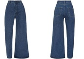 Asymmetrical jeans are a thing, and the internet doesn't know how to feel