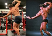 Arnold Schwarzenegger's Son Shows Resemblance to Dad by Recreating Iconic Bodybuilding Pose