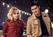 First Pic of Emilia Clarke and Henry Golding's 'Last Christmas' Already Looks Magical
