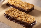 Oat and Hazelnut Banana Granola Bars