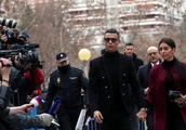 Ronaldo accepts fine for tax evasion, avoids jail