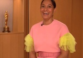 Oscar nominations 2019: Tracee Ellis Ross wears candy floss-coloured jumpsuit to announce nominees