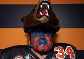 Bears superfan has shot at Hall of Fame: 'It's like a different persona being Bearman'